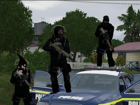 Terroristen lassen Polizei Machtlos aussehen